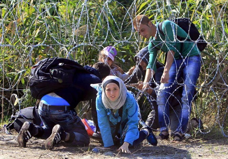 لاجؤون سوريون يعبرون حدود أوروبا